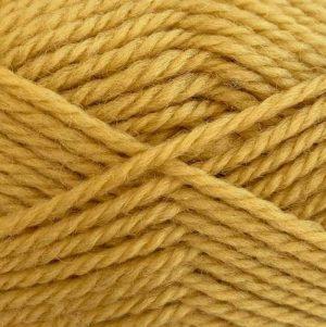 Crucci 8ply Soft M/Wash Pure Wool 185 Mustard