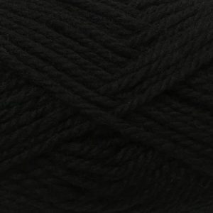 Crucci Aran 10 Ply Pure Wool 15 Black
