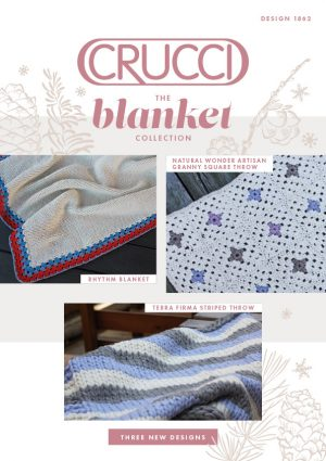 Crucci Knitting Pattern 1862 The Blanket Collection