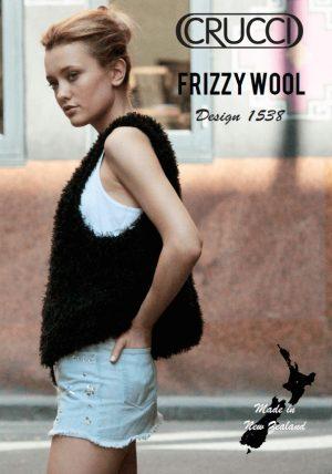 Crucci Knitting Pattern 1538 Frizzy Vest