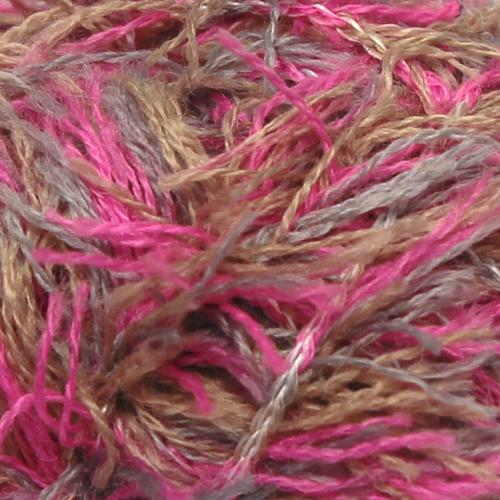 Crucci Frizzy Wool 10 Pink Print