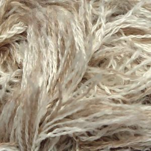 Crucci Frizzy Wool 9 White Print