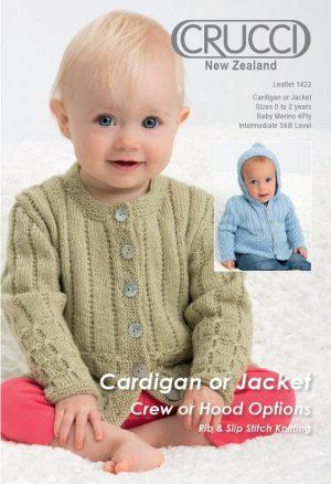 Crucci Pattern 1423 Baby Merino 4ply
