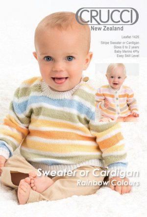 Crucci Pattern 1426 Baby Merino 4ply