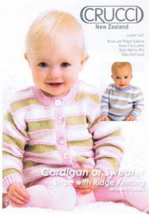 Crucci Pattern 1427 Baby Merino 4ply