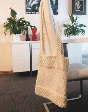 Knitted Shopping Bag Pattern