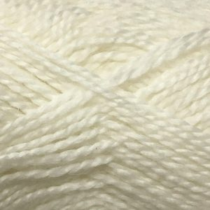 Crucci Lambshair 8ply Wool Shade 21 white