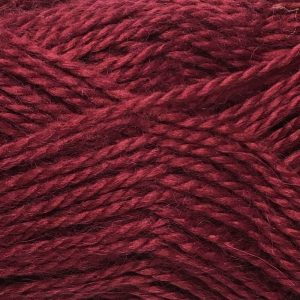 Crucci Lambshair 8ply Wool Shade 31 burgundy