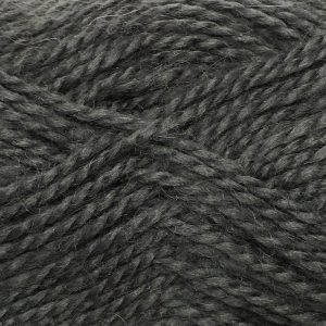 Crucci Lambshair 8ply Wool Shade 32 dark grey