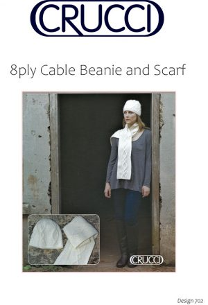 Free beanie and scarf patter