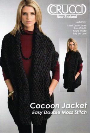 1407 Ladies Cocoon Jacket Pattern
