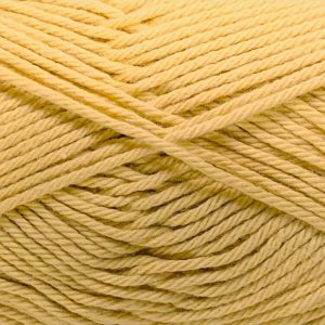 Pure Cotton 8ply Shade 107 Mustard