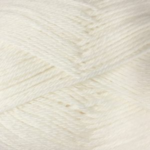 Crucci Pure Wool Soft 4ply 1 White