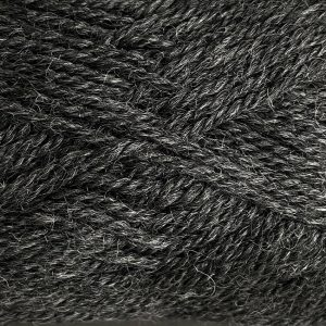 Woolly Red Hut Naturals 8ply 104 Charcoal